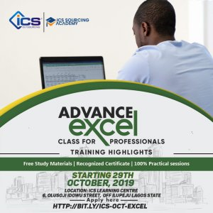 Business Certification, Management and Leadership Training Academy in Nigeria | Advanced Excel Training